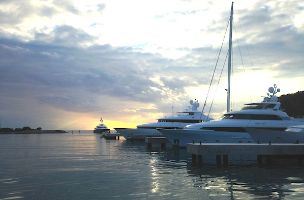Image for article Opening the Marina at Christophe Harbour